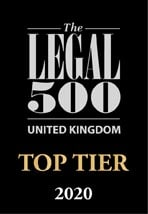 Top Tier Law Firm - Legal 500